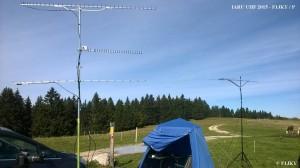 F1JKY-P JN25TE IARU UHF - les Antennes - by F1JKY