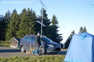 F1JKY-P JN25TE IARU UHF - Ant dir F6CXO - by F6HMK