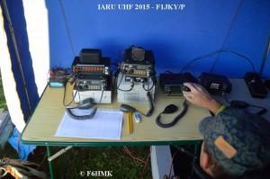 F1JKY-P JN25TE IARU UHF - La Station - by F6HMK